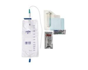 MedLine Pre-Connected Vinyl Intermittent Catheter Trays