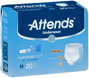 Attends Healthcare Products Attends Underwear Super Absorbency