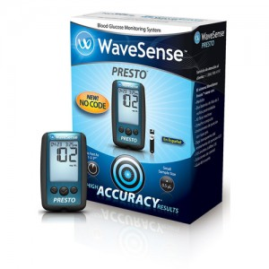 Wavesense Presto Blood Glucose Monitoring Kit