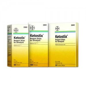 Ketostix Reagent Urine Test Strips for Ketones