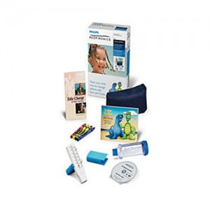 Respironics AsthmaPACK II Pediatric Personal Asthma Care Kit