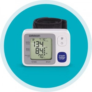 Omron 3 Series Wrist Blood Pressure Monitor BP629