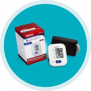 3 Series Upper Arm Blood Pressure Monitor by Omron