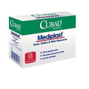 MedLine CURAD MediPlast Corn, Wart & Callus Remover