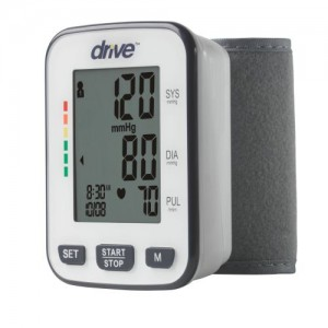 Drive Deluxe Automatic Deluxe Blood Pressure Monitor, Wrist