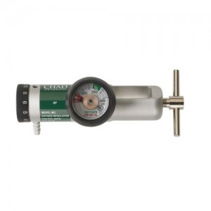Drive Chad CGA 870 Brass Core Oxygen Regulator