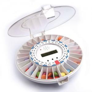 MedELert Automatic Pill Dispenser 1-6 Alarms