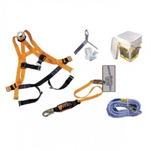 Miller  Basic Roofing Kit With 8173 Microloc  & Lifeline