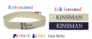 PRIVATE LABEL Gait Belts