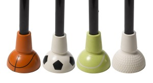 Drive Medical Sports Themed Cane Tips