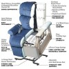 Golden Technologies Value Series Monarch Medium Lift Chair