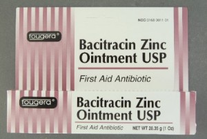 Bacitracin Zinc Ointment USP, 500 U/g by Fougera