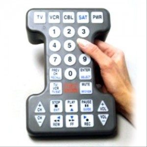 Tek Partner Universal Big Button Remote Control