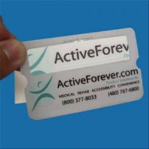 ActiveForever Credit Card Protector and Magnifier