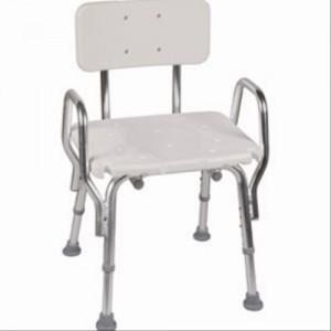 Eagle Snap n Save Shower Chair with Backrest and Arms