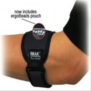IMAK Adjustable Tennis Elbow Support with Ergobeads