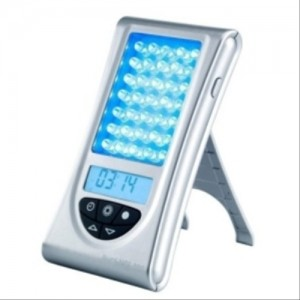 Zadro Sunlight 365 SAD Therapy Light Box with Clock