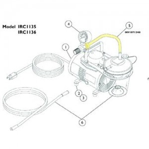 Invacare Suction Tubing with Filter