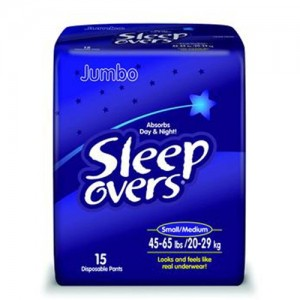 First Quality Sleep Overs  Youth Disposable Pants