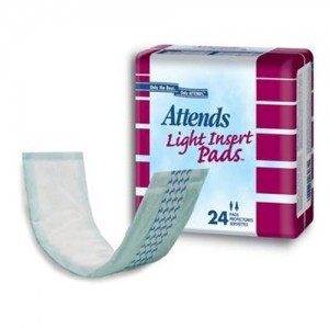 Attends  Light Incontinence Insert Pads