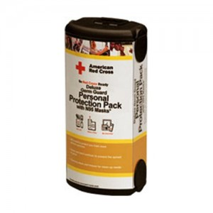 Red Cross Deluxe Germ Guard Protection Pack with N95 Masks RC-651