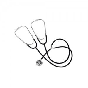 Teaching and Training Stethoscope Black