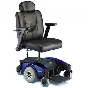 Invacare Pronto M51 Power Wheelchair with Captain's Seat