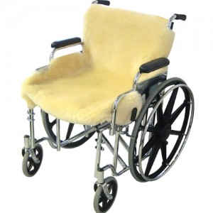 Sheepskin Ranch Sheep Skin Wheelchair Seat Cover