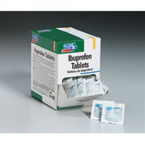 First Aid Only Ibuprofen Tablets 100 1-Packs H430