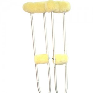 Sheepskin Ranch Sheep Skin Crutches Accessory Kit