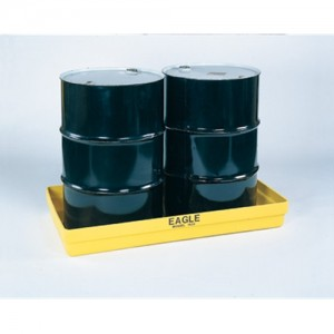 Eagle Two Drum 34 Gallon Polyethylene Modular Spill Containment Basin