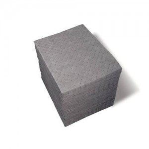 Brady 15 x 19 inch 3-Ply Double Sided Sorbent Pad : 200 per Case