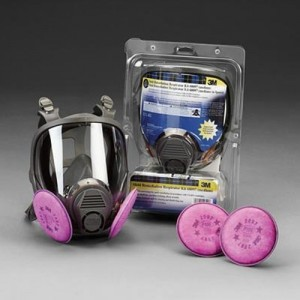 Mold Remediation Respirator Assembly
