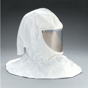 3M Tychem QC Hood Assembly With Collar And Hard Hat