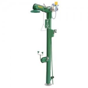 Haws Freeze-Resistant Top Supply Heat Trace Combination Shower Eyewash