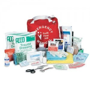 "Swift First Aid 8"" X 8"" X 7"" Standard Emergency Trauma Bag"