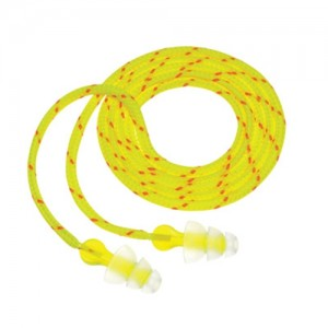 AOSafety  Peltor  NEXT  Tri-Flange  Corded Acrylic Earplugs
