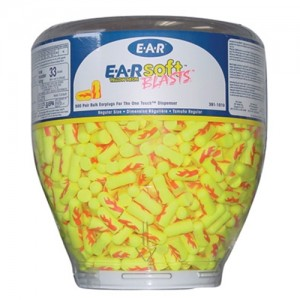 AOSafety E-A-Rsoft Yellow Neon Blasts One Touch Dispenser Refill
