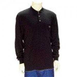 Indura Ultra Soft  Long Sleeve Flame Resistant Henley Shirt
