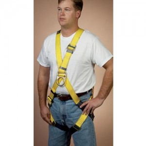DBI/SALA  Universal Full Body Cross Over Harness With Front D-Rings