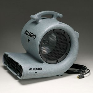 Allegro  Industries Blower 3 Speed 2500 CFM 1/2 Horsepower 6.0 Amps