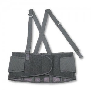 Ergodyne  ProFlex  100 Spandex Back Support With Rubber Track