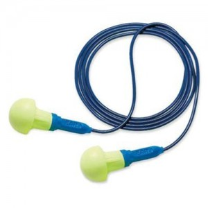 AOSafety  Multi Use E-A-R  Pushins  Mushroom Shaped Corded Earplugs