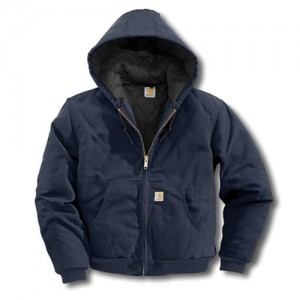 Carhartt  Quilted-Flannel Lined Duck Active Jac Jacket