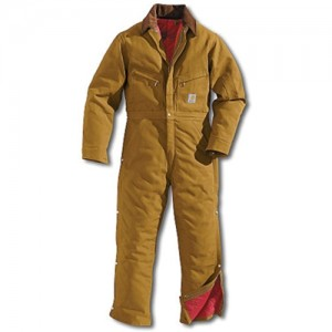 Carhartt Quilt Lined 12 Ounce Cotton Duck Coverall