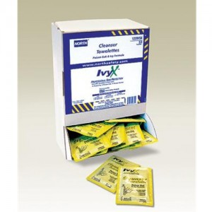 North Safety IvyX Towelettes
