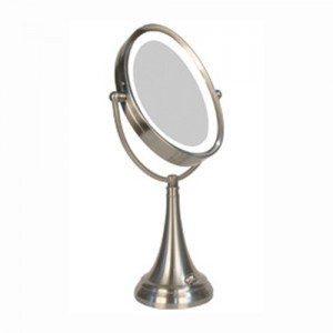 Zadro Next Generation 1X/10X LED Lighted Oval Vanity Mirror