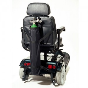 EZ Access Scooter Single Oxygen Tank Holder