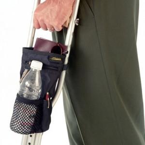 EZ Access Universal Crutch Pouch