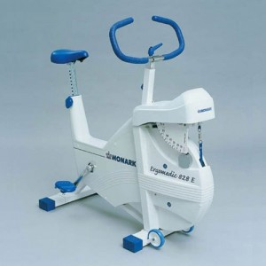 Monark 828E Stationary Bicycle Cardiovascular Tester